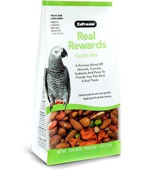 Garden Mix Bird Treats for Amazons, Macaws, Cockatoos