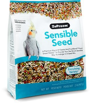 Fruit and Seed Pellet Blends for Cockatiels, Quakers, Lovebirds, Small Conures