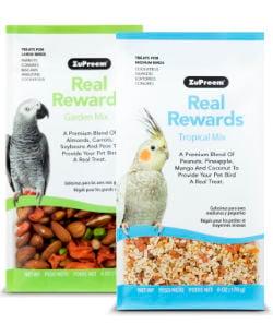 bird treats for parrots and cockatoos