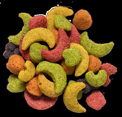 Pros of pellet bird food