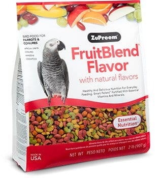 Pellet Bird Food with Fruit Flavors