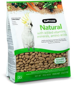 Healthy Bird Food for Cockatoos