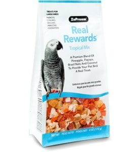 Bird Treats Tropical Mix - Real Rewards