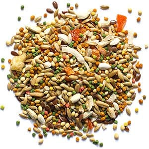 Pellet Bird Food with Smart Level of Fat for Canaries and Finches