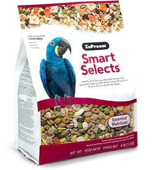 Diet Pellet Bird Food for Amazons, Macaws, Cockatoos