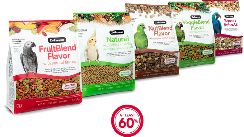 Pellet Bird Food Options