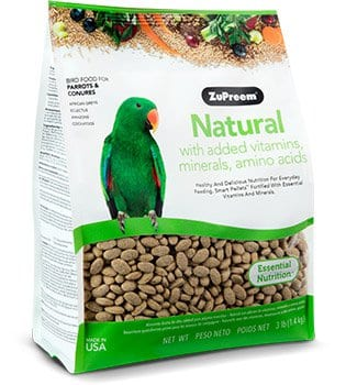 Healthy Bird Food for African Greys