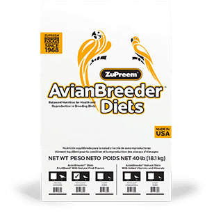 Pellet Bird Food for Breeding Birds