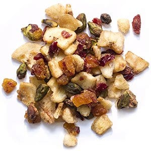 Bird Treats with Apricots, Cranberries, Almonds and Bananas for Cockatiels and Lovebirds