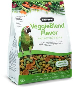Veggie Pellet Bird Food