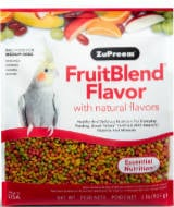 Bird food pellet diet