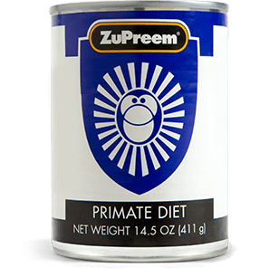 Canned Food for Capuchins, Wooly Monkeys, Squirrel Monkeys, Gibbons and Rhesus Monkeys