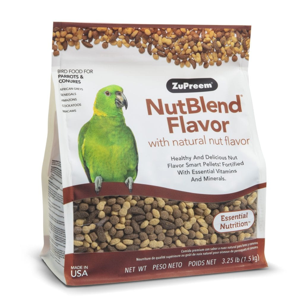 Nut Flavored Pellet Bird Food