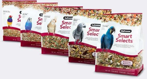 Pellet Bird Food with Smart Level of Fat