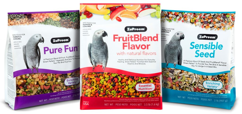 Feeding Your Birds Pellets and Blended Bird Food