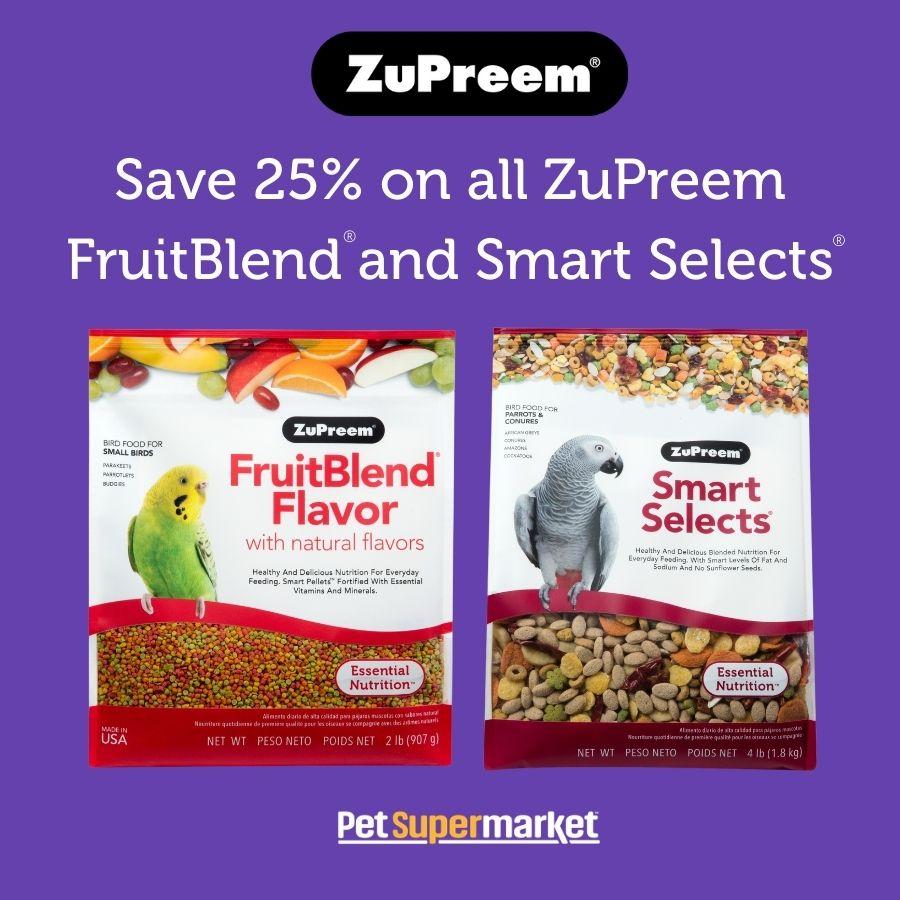 Find ZuPreem at Pet Supermarket